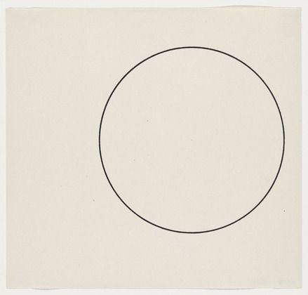Ellsworth Kelly · Circle Line · 1951 · Museum of Modern Art · New York