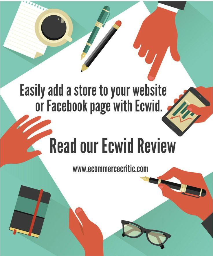 Easily add a #store to your #website or #Facebook page. Read the Ecwid Review by @eCommerce Critic.   #ecommerce #onlinestore #sellonfacebook
