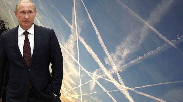 """Putin claims he is """"vindicated"""" by recent news reports that Western elites are experimenting with geoengineering."""