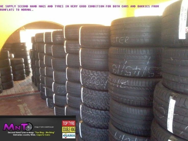 """MAGS AND TYRES IN VERY GOOD CONDITION FOR BOTH CARS AND BAKKIES FROM RUNFLATS TO NORMAL. PLACE AN ORDER AND GET IT DELIVERED TO YOUR DOOR THE NEXT DAY. WE MIGHT BE IN PRETORIA, BUT WE ARE MASTERS OF ALL DESTINATIONS. YOU RING, WE BRING.FEEL FREE TO CONTACT Lawrence ON 012 571 18 18 or 0766603601-0726083305 OR VISIT US AT 2ND FLOWER STREET CAPITAL PARK PRETORIA.NEED GOOD SECOND HAND TYRES!!!! We deliver country wide.NO PROBLEM 60 TO 65 % TREAD..0127511818....""""YOU RING WE BRING"""""""