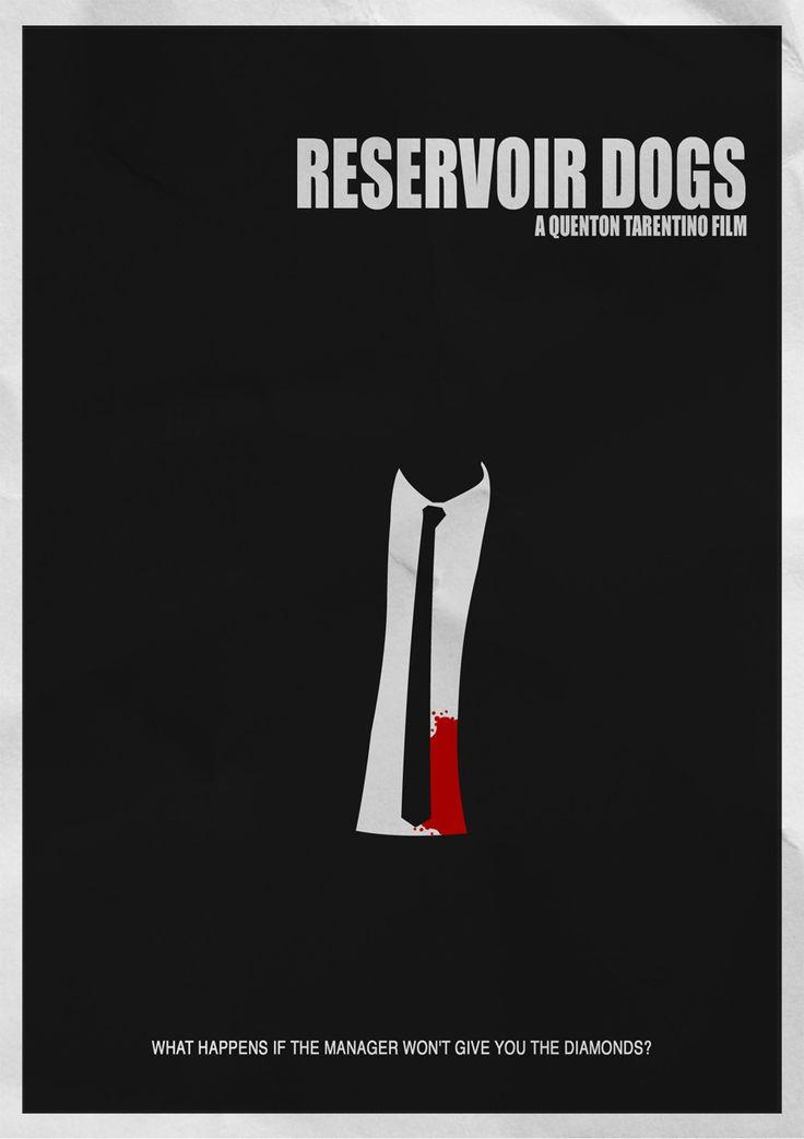 "Minimalist Movie Poster | ""Reservoir Dogs"" (1992)"