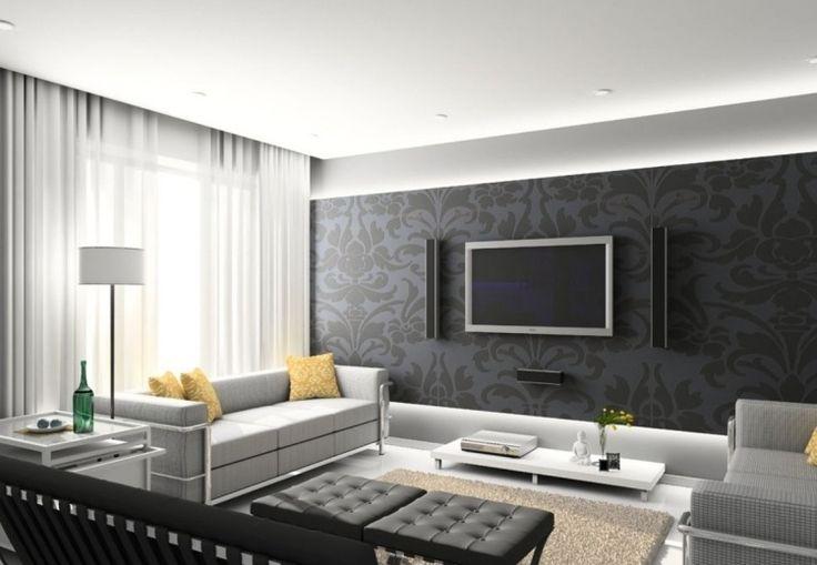 graue t ne mit etwas farbe schaffen stilvolle und pers nliche atmosph re m bel wohnung. Black Bedroom Furniture Sets. Home Design Ideas