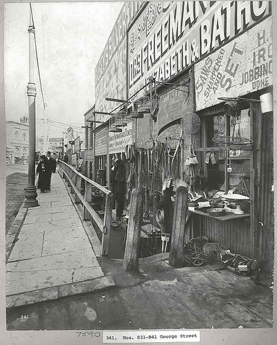 George Street, 1900 by State Records NSW, via Flickr
