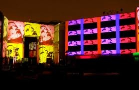 Large scale projections - celebrations on a big scale - Google Search