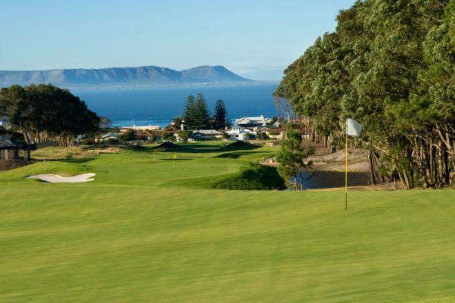Golf course in Hermanus