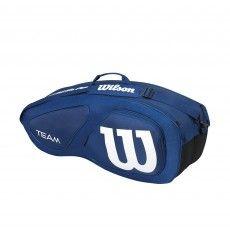 Wilson Team II 6 pack tennistas navy @wilsontennis #wilson #tennistas