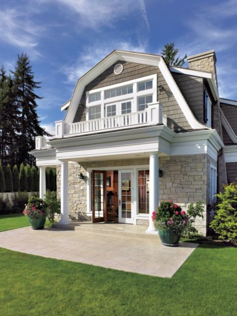 112 Best Images About Dutch Colonial Exteriors On
