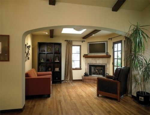 Living Room With Corner Fireplace And Tv 46 best corner fireplace images on pinterest | fireplace ideas