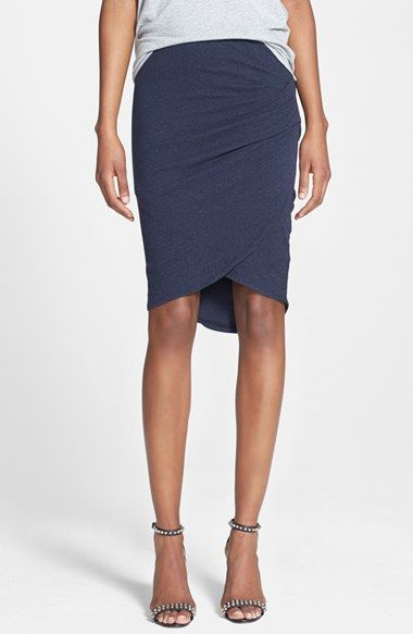 James Perse Tulip Hem Skirt available at #Nordstrom
