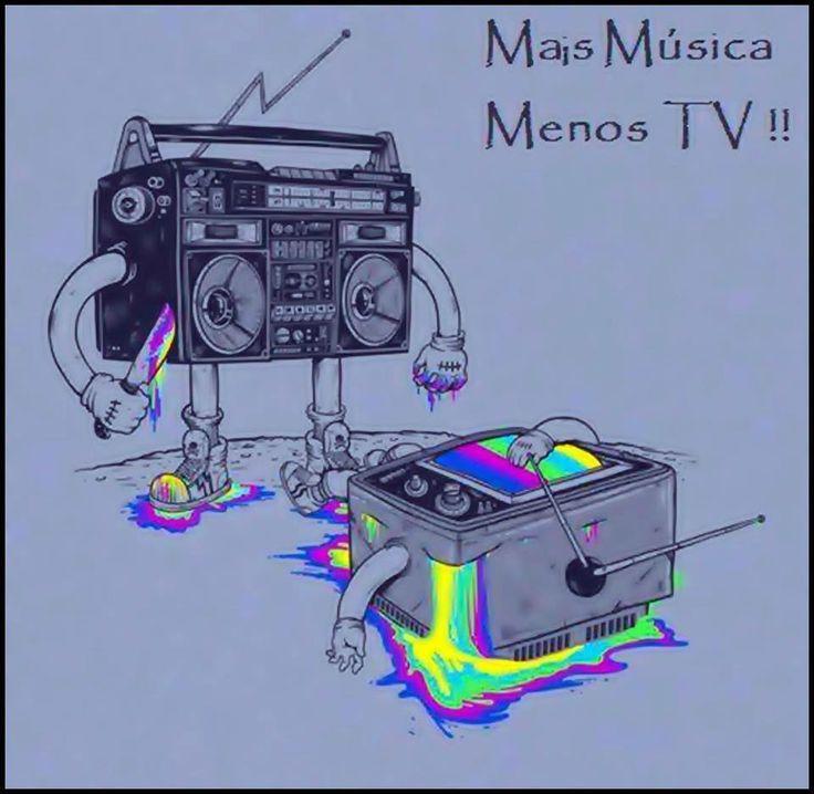 MAS MUSICA MENOS TV.