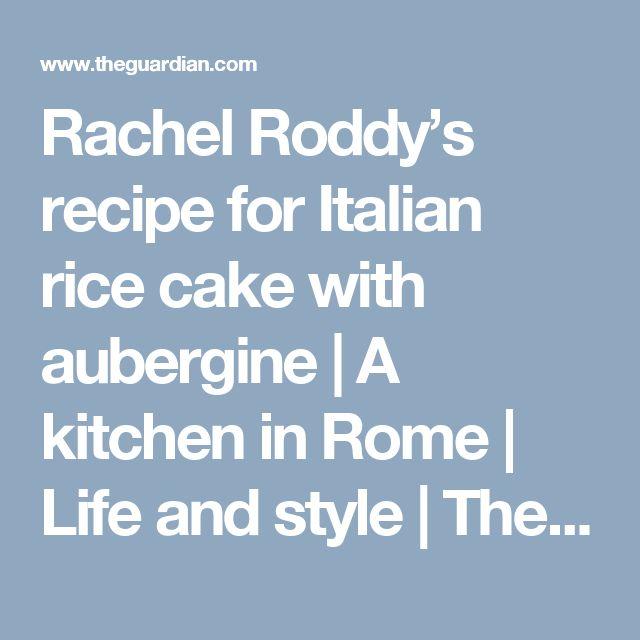 Best Cakes Rachel Roddy