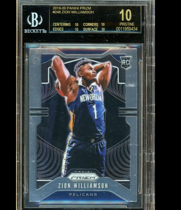 They said it was just a base card... Zion Williamson 19/20
