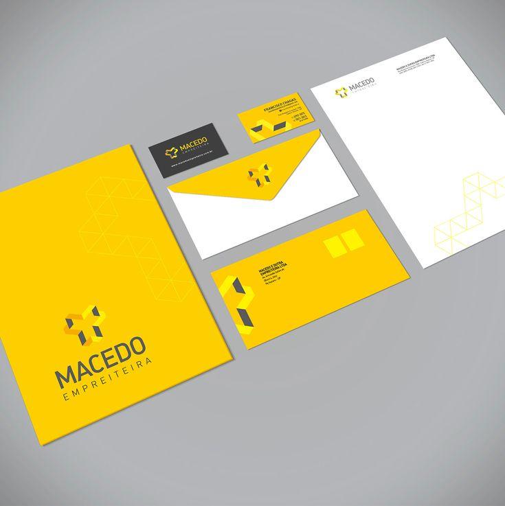 Dudia Dsign - Portfolio | Rebrand Identity Macedo Empreiteira