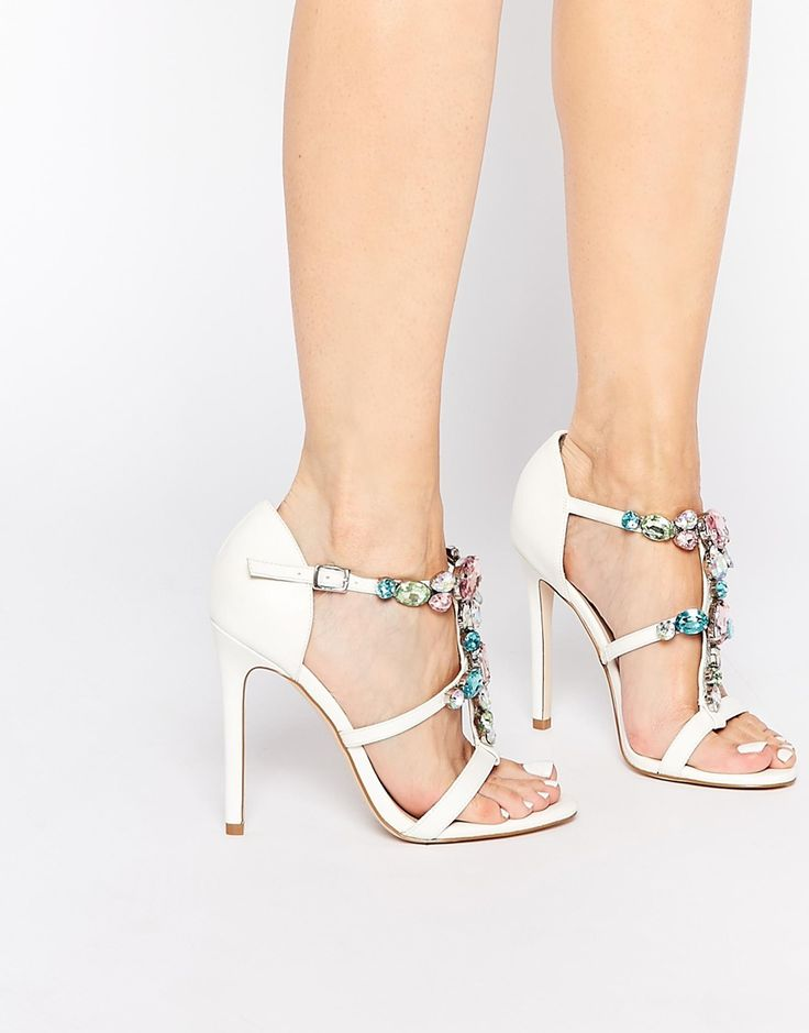 Image 1 of ASOS HEAD IN THE CLOUDS Heeled Sandals