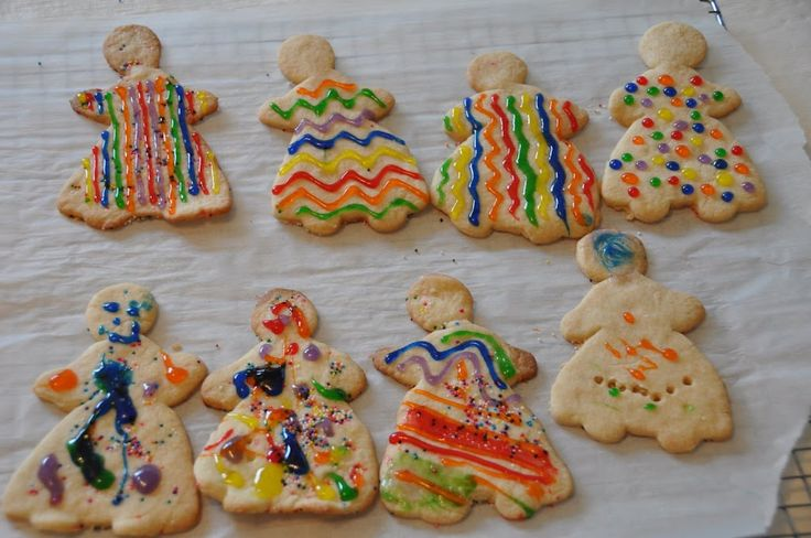 "Joseph's ""Coat of Many Colors"" cookies [Picasa Web Albums - Emily Shapiro Katz]"