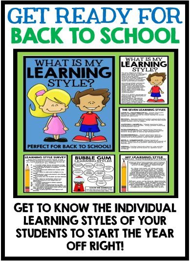 individual learning preferences Supporting how children learn best: environment for luis based on his learning style preferences children through their individual learning.