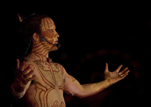 Takona Body Painting Competition During Tapati Festival, , Hanga Roa, Easter Island, Chile | por Eric Lafforgue