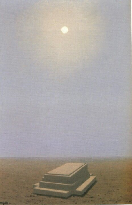 René Magritte - The Hereafter, 1938