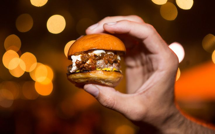 Ten restaurants duked it out for the title of Best Burger at Los Angeles magazine's Burgers Bourbon + Beer