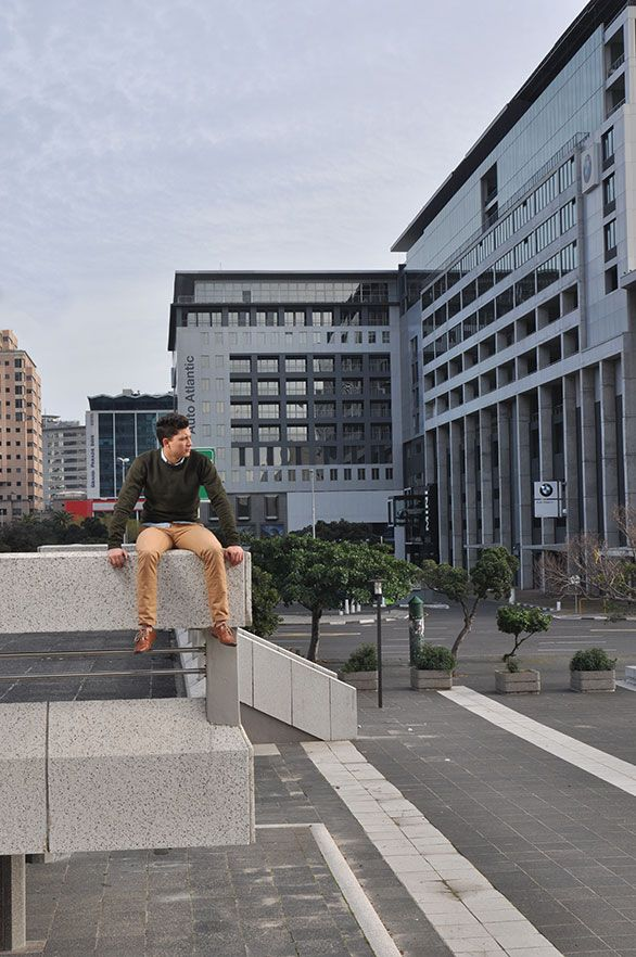 Urban Jungle Male Fashion shoot in the streets of Cape Town