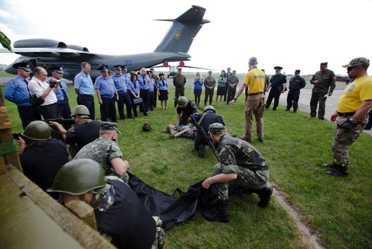 National Guard of Ukraine regiments took part in first aid courses designed acc to NATO standards.
