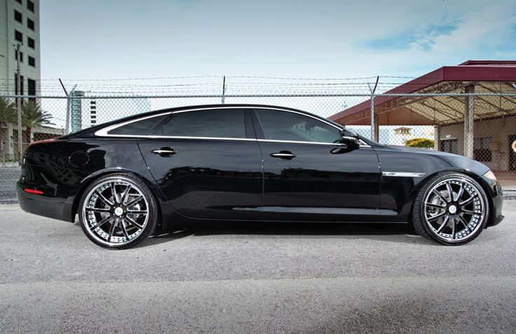 Jaguar XJL Wearing Strasse Forged S10 Shoes | Rides Magazine