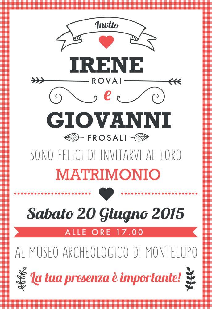 #inviti #matrimonio #weddinginvitation #homemade #postcard #invitifaidate