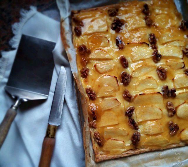 4 postres veganos fáciles y rápidos, tarta de manzana #alimentacion #salud #apple #postres