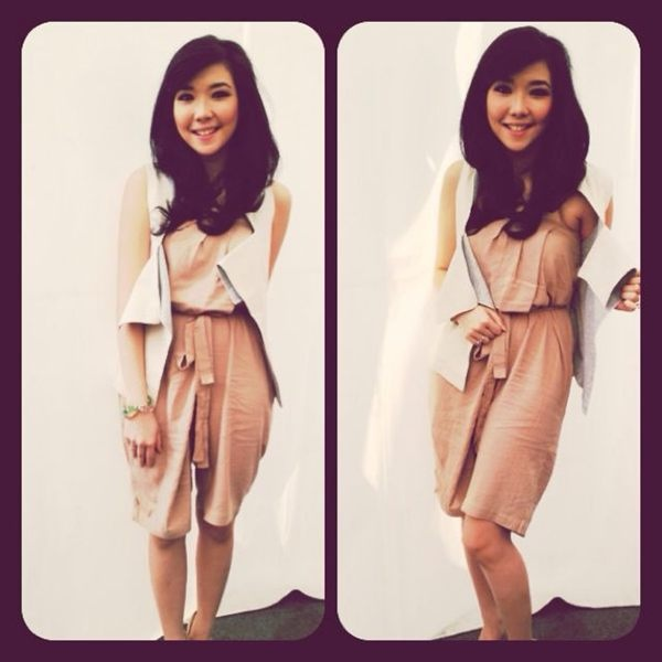 Gisel ready for Inbox SCTV 12 November 2012 wearing (X) S.M.L