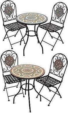 Garden Furniture Mosaic 17 best garden images on pinterest | metal patio furniture, mosaic