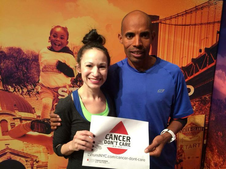 Meb supports #CancerDontCare's fight to fund cancer research and patient aid. Benefitting the Leukemia & Lymphoma Society.   Every dollar bring us closer to a cure.  http://www.mwoy.org/pages/nyc/nyc14/lvaccaro