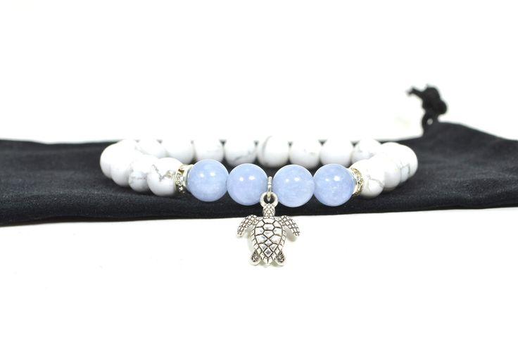 Ocean Breeze bracelet - Third Eye Gemstones