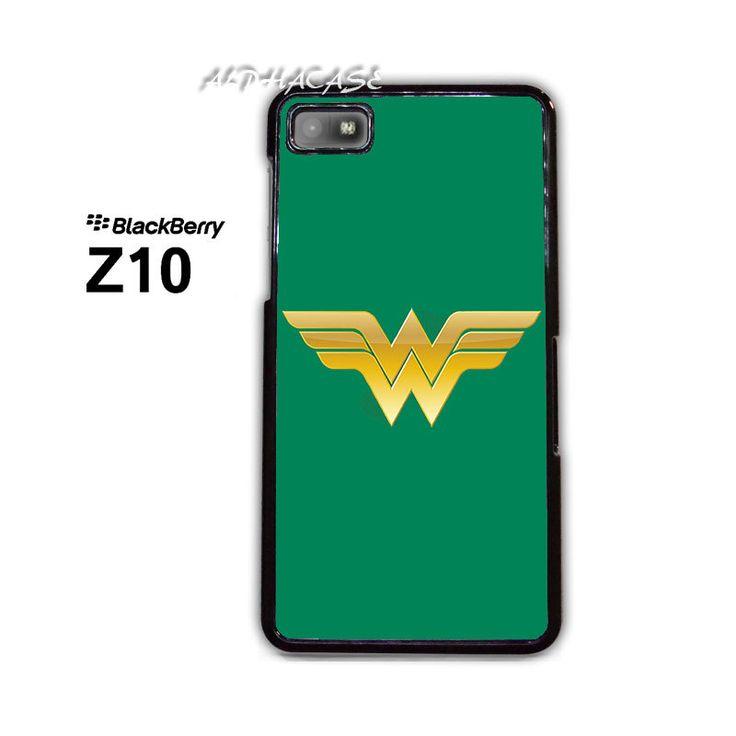 Wonder Woman Logo BB BlackBerry Z10 Z 10 Case