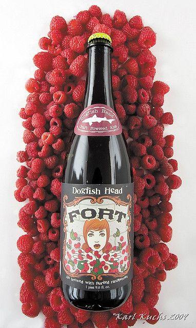 Dogfish Head Fort     Fruit Beer     18% ABV     Milton, DE
