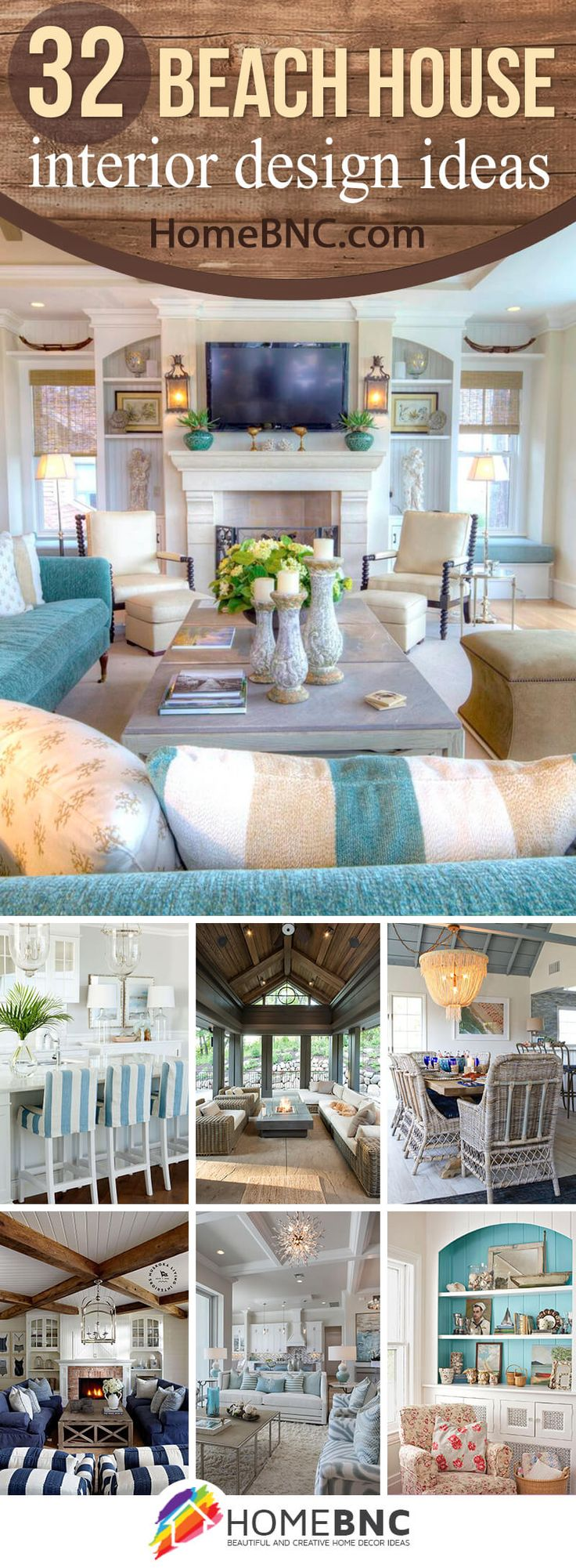 Beach home decorating interior - 32 Cozy Beach House Interior Design Ideas You Ll Love This Summer