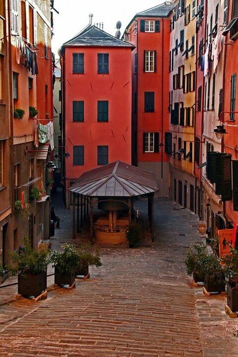 Genoa, Italy - Trogoli di Santa Brigida