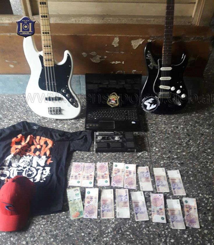 Un joven fue sorprendido robando instrumentos musicales: Habría ingresado por la parte posterior cuando la alarma de seguridad se activó,…