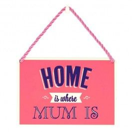 hang-ups! - tinnen bordje - home is where mum is | Muller wenskaarten https://www.mullerwenskaarten.nl/index.php/moederdag/hang-ups-tinnen-bordje-home-is-where-mum-is.html