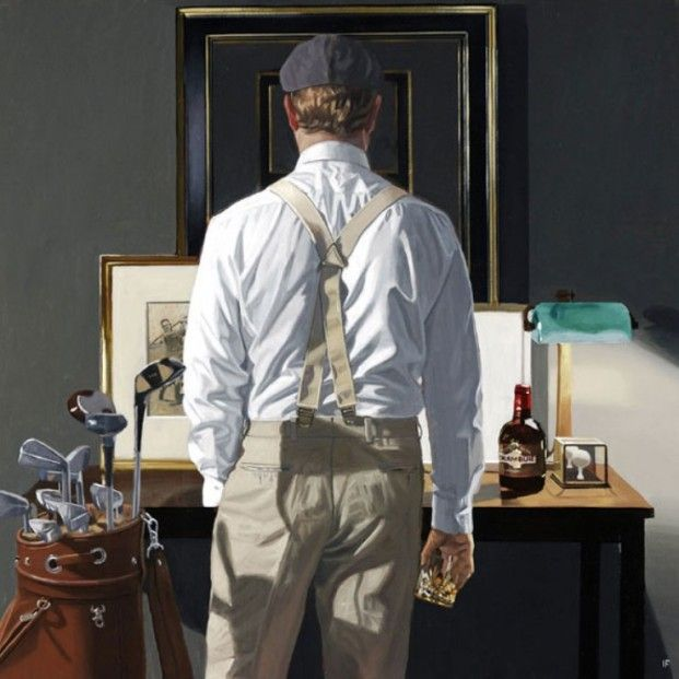 Iain Faulkner The 19th Signed Limited Edition Print | Scottish Contemporary Art