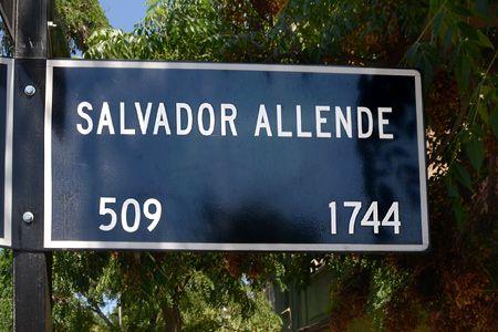 Pasaje Salvador Allende  - Santiago, Chile