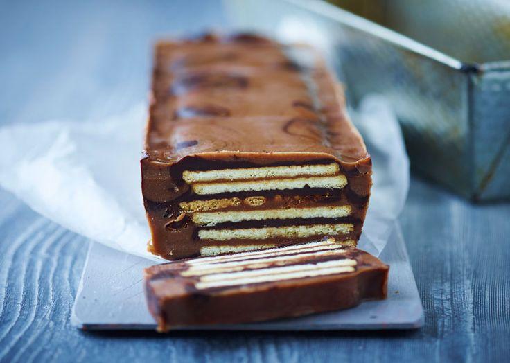 Kiksekage med chokolade & nougat