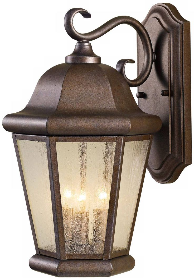 "Feiss Martinsville 17"" High Outdoor Wall Lantern - #R1368 