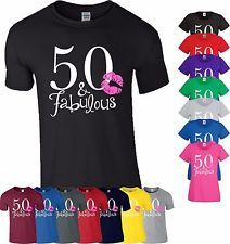 50 Fabulous Kiss T Shirt Made In 1967 Age 50th Year Birthday Gift Men Ladies Top