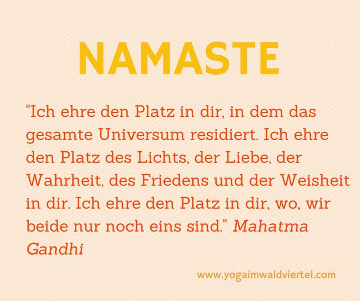 die Bedeutung des Segensgrußes Namaste