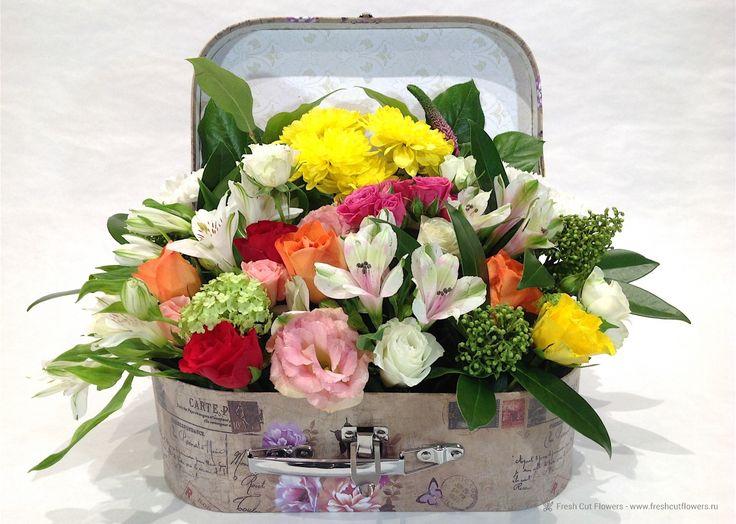 Цветочный чемоданчик.