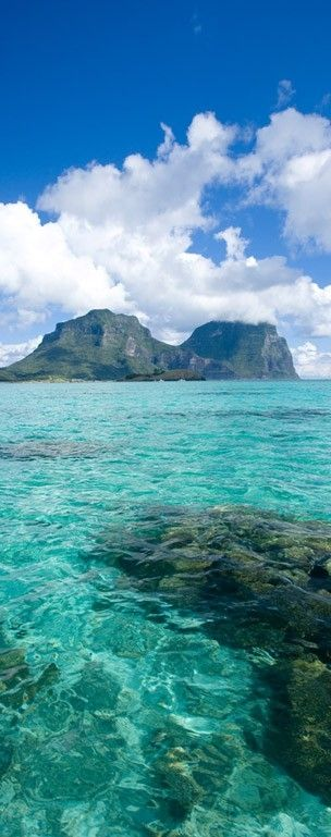 Beautiful prestine water ~ Lord Howe Island, Australia