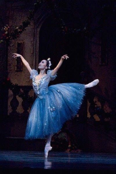 Nao Kusuzaki in Coppelia Houston Ballet Photo by Jim Caldwell