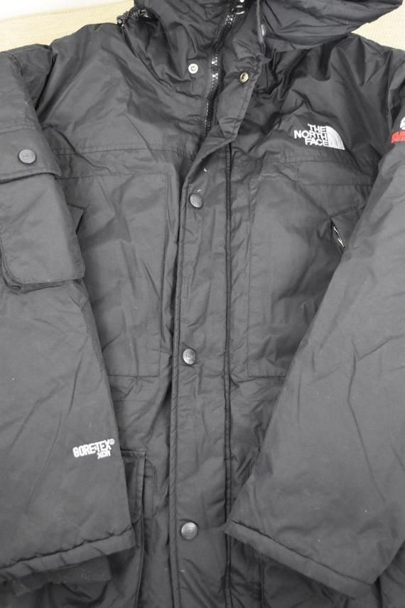 Mens North Face Parka SUMMIT SERIES Down Black L Size Large Puffer ... 43c95d655