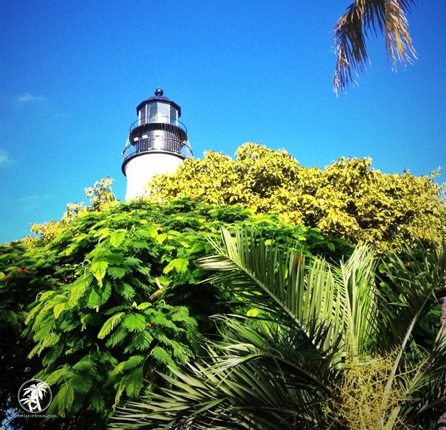 Key West Lighthouse - We climbed it on our honeymoon. It's not like we are capable of not visiting a lighthouse when we see it. [Olivia]