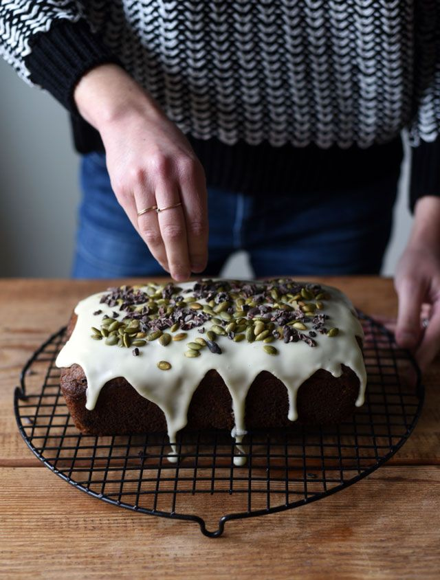 Kabocha, Olive Oil, and Chocolate Cake